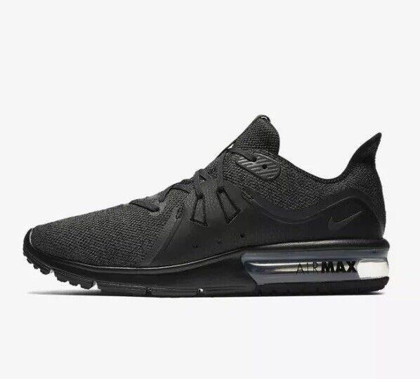 Nike Max Sequent 3 Zapatillas para hombre Air Talla UK 11 (EUR 46)   Caja tiene Sin Tapa