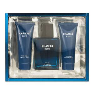 Chateau Blue 3 Piece Cologne Gift Set Inspired By. Bleu De ...