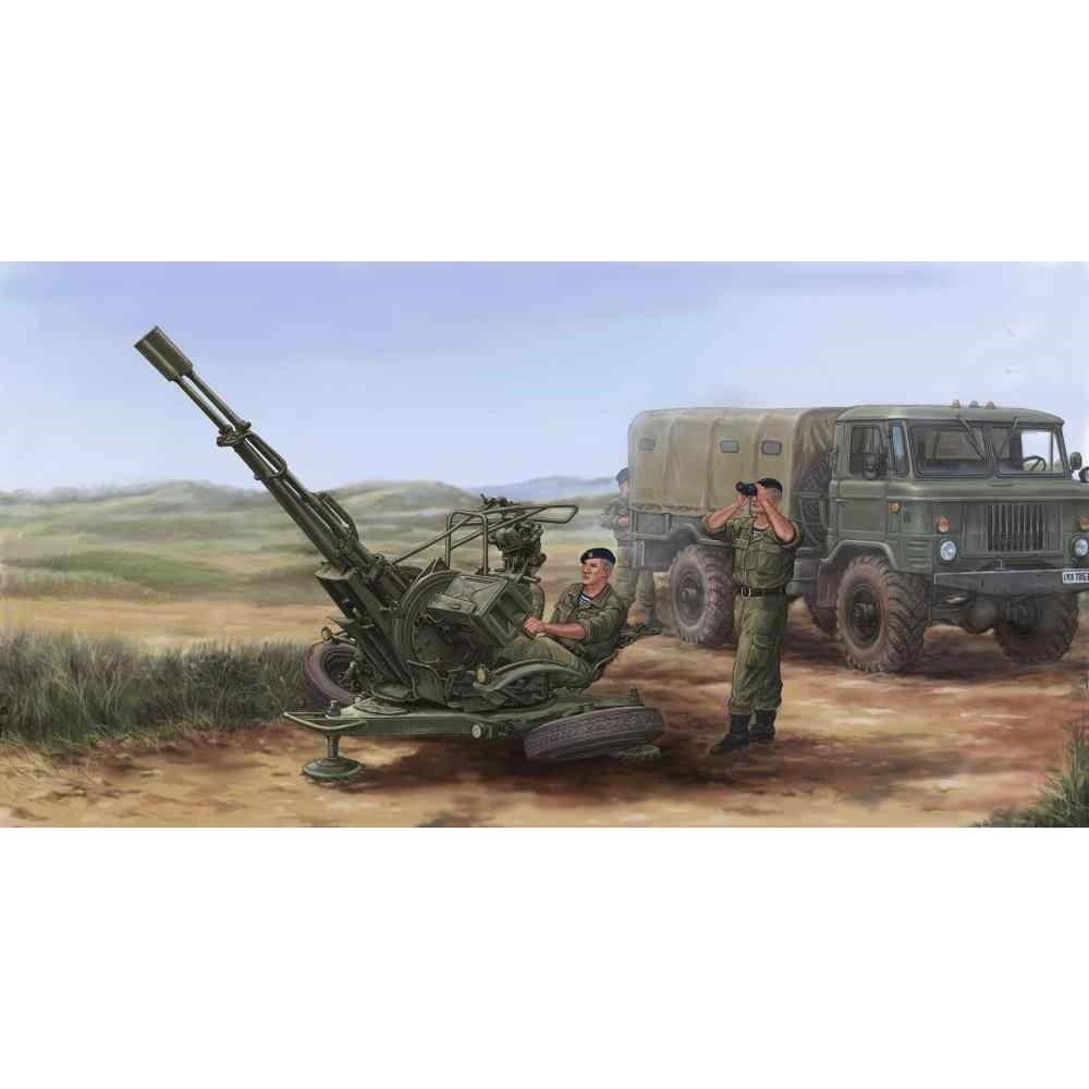 Trumpeter 1 35 - Zu-23-2russian Anti-aircraft Gun - Tru02348 135 Zu232 Russian