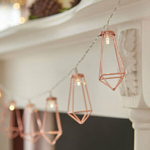 1-3m-Indoor-Battery-Power-Rose-Gold-Cage-Fairy-Lights-LED-Industrial-Geometric