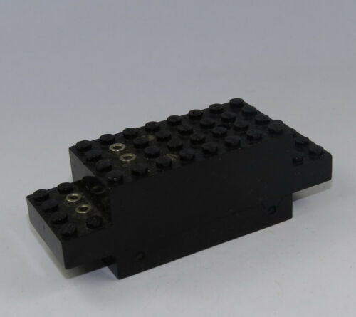 LEGO ® 4v motore ferroviario Ferrovia Motore Nero Lok treno City