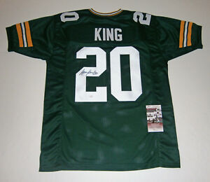 PACKERS-Kevin-King-signed-custom-green-jersey-w-20-JSA-COA-AUTO-Autographed