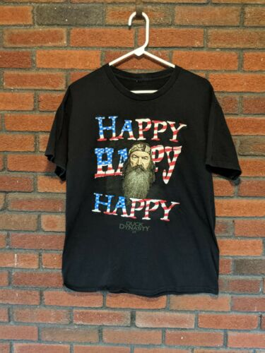 Duck Dynasty Happy Happy Happy T Shirt