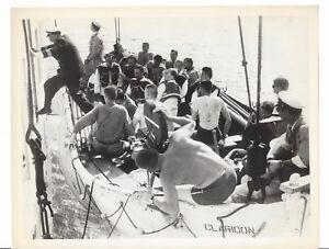 The Last Voyage 1960 Dorothy Malone Original Movie Photo's Robert Stack Lifeboat