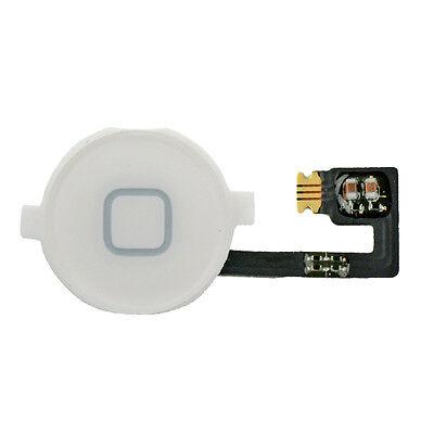 iPhone 4 Homebutton Home Button Taste Flex Kabel - weiß