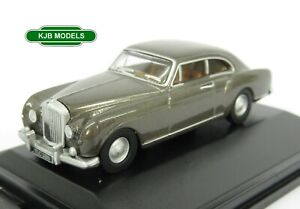 BNIB-OO-GAUGE-OXFORD-1-76-76BCF004-Bentley-Continental-Fastback-Gunmetal-Car
