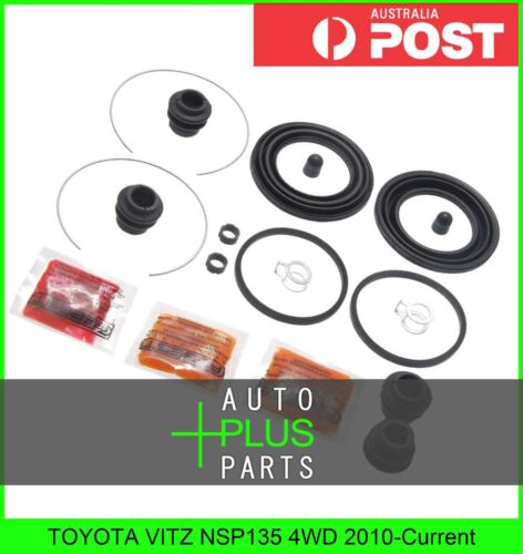 Brake Caliper Cylinder Piston Seal Repair Kit Fits TOYOTA VITZ NSP135 4WD
