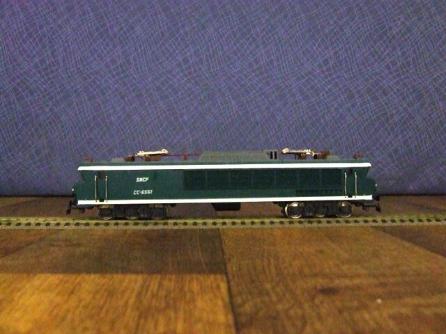 Jouef HO - 8440 Electric Loco SNCF CC - 6551  MAURIENNE
