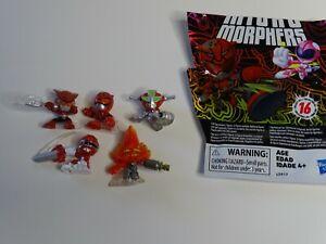 Lot of 5 Power Rangers Micro Morphers