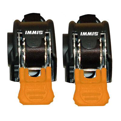 "CargoBuckle Mini G3 Retractable Ratchet Tie-Down 1/"" x 72/"" Pr #F103745"