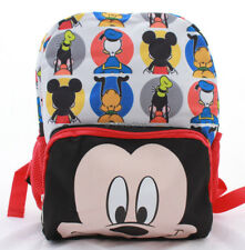 Disney Mickey Mouse Boys Toddler PreSchool Backpack Book Bag Kids 12