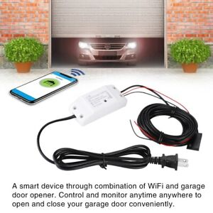Universal Wireless Wifi Garage Door Remote Control Gate