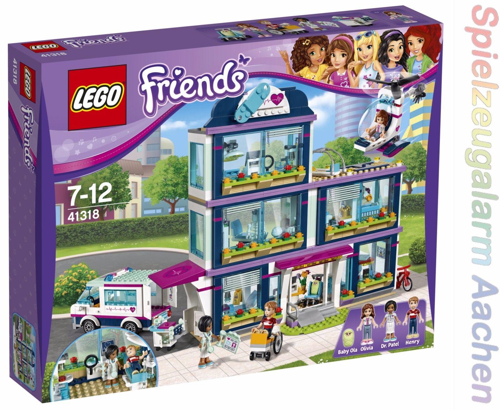 Lego Friends 41318 Heartlake hospital hospital l 'hospital d' Heartlake n7 17
