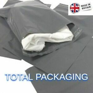 Grey-Mailing-Bags-Poly-Mailers-7-x-9-175mm-x-230mm-Post-Mail-Postal-Envelopes