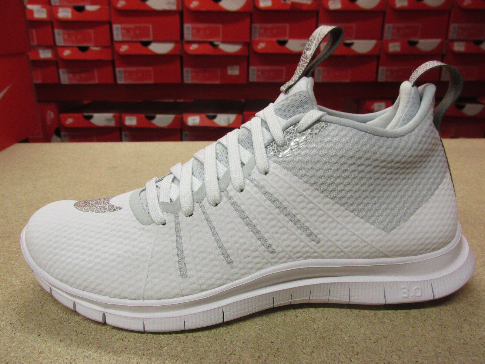 nike free hypervenom 2 FS mens hi top trainers 805890 101 sneakers shoes