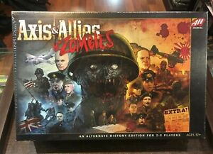 Axis & Allies & zombies board game avalon hill ingles español