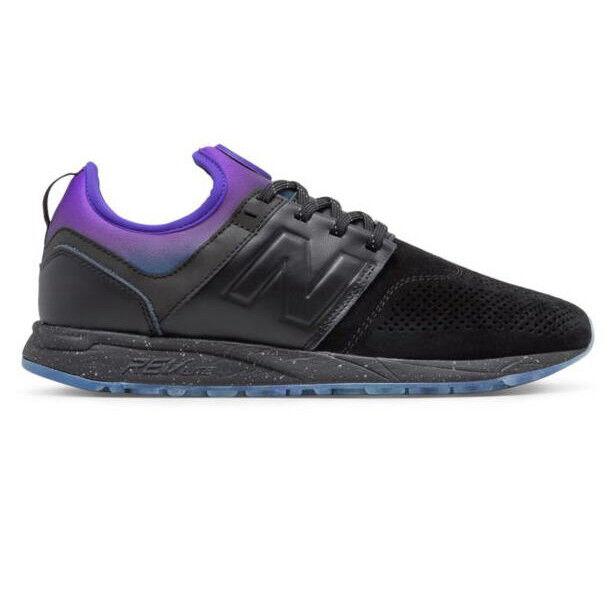 New Balance MRL247ST - Men's 247 Lifestyle shoes Black & Purple