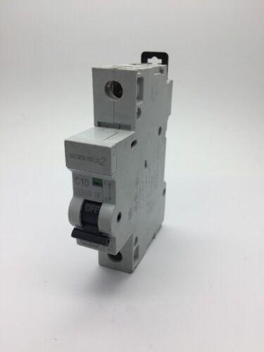 MEM memshield 2 Eaton MCH110 C10 10Amp Tipo C Disyuntor Reja de desminado Bill Talismán