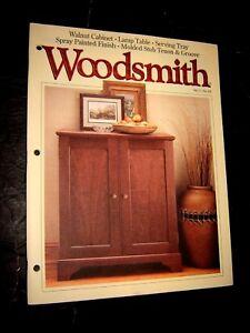 Image Is Loading Woodsmith Magazine Vol 17 No 101 October 1995