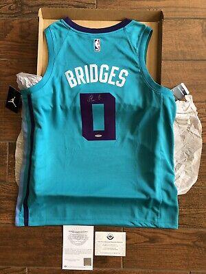 Charlotte Hornets Miles Bridges City Edition Black Swingman Jersey