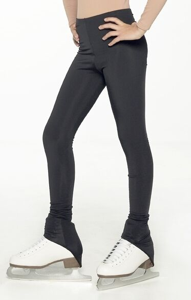 SEMI OVER THE BOOT ICE SKATING LEGGINGS WARM AND WATER RESISTANT
