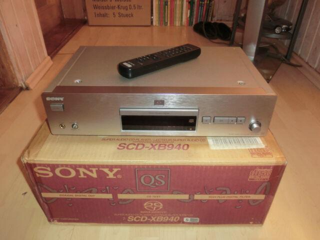 Sony SCD-XB940 High-End SACD-Player, OVP&NEU, inkl. FB, 2 Jahre Garantie