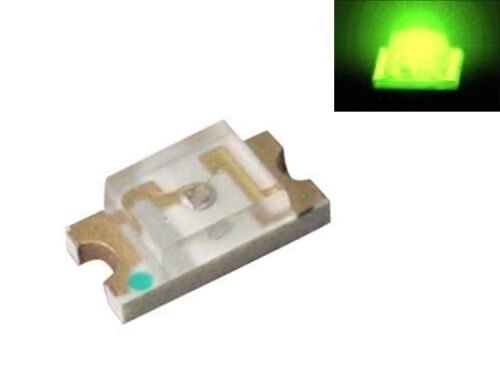 S920-50 Stück SMD LED 1206 grün LEDs green
