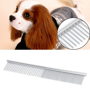 Stainless-Steel-Brush-Comb-Hair-Shedding-Flea-For-Cat-Dog-Pets-Trimmer-Grooming