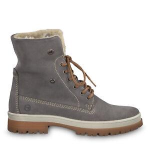 sports shoes 08d5b 9b620 Details zu Tamaris 1-1-26254-21 254 Schuhe Warmfutter Schnürboots  Stiefeletten Aldina grau