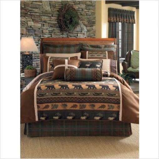 Croscill Caribou Comforter Set, Queen, MultiFarbe