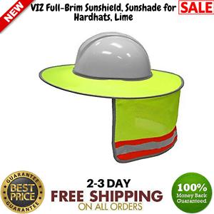 c690b724b05 Full-Brim Hard Hat Sun Shield Sunshade Head Neck Nape Protector ...