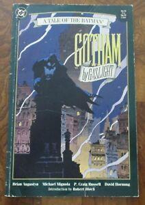 Batman-Gotham-By-Gaslight-Mike-Mignola-Used-1st-Print-DC-1989