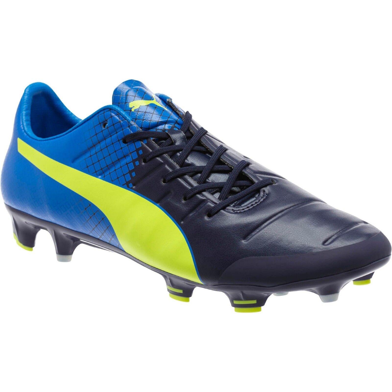 Puma evoPOWER 1.3 Tricks FG Azul Azul Zapatos Botines De Fútbol patadas 7 8 para hombre
