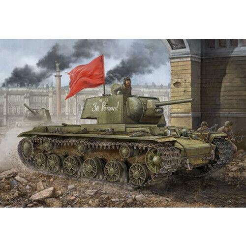 "Russian KV-1 Model 1942 ""Simplified Turret"" 1:48 Tank 84812 HobbyBoss Models"