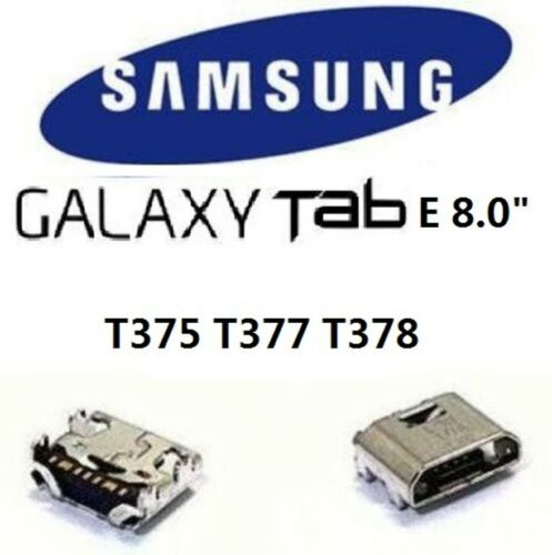 """3X Samsung Galaxy Tab E 8.0/"""" SM T375 T377 T378 Charging Port Charger Connector"""