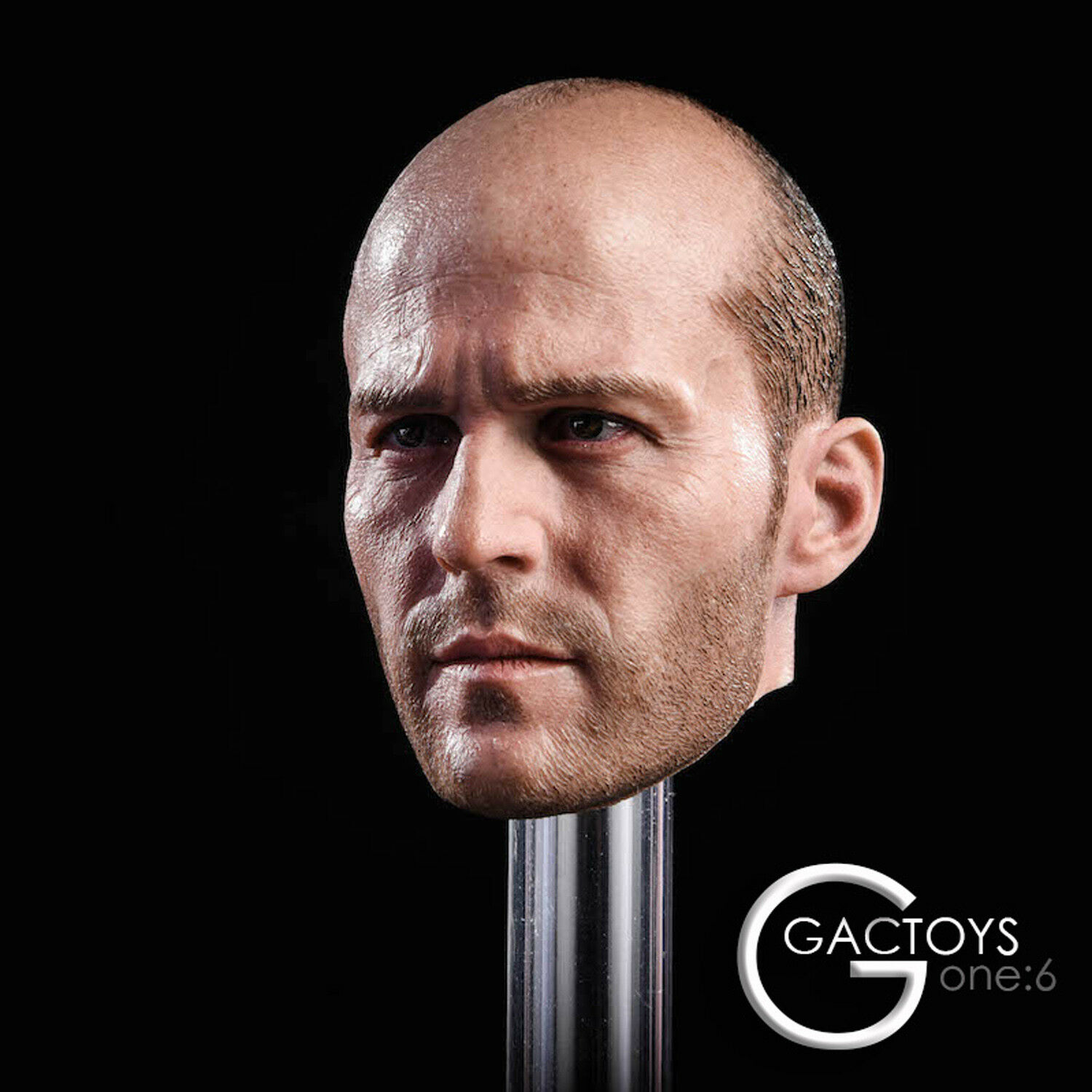 GACTOYS GC023 1 6 Scale Jason Statham Head Sculpt fit for 12  Action Figure