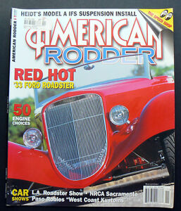 AMERICAN-RODDER-November-2004-Ford-Roadster-Chevy-Model-A-T-Tudor-hotrod-car