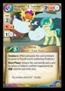 2 1x Smolder Culture Shock My Little Pony Friends Forever MLP CCG