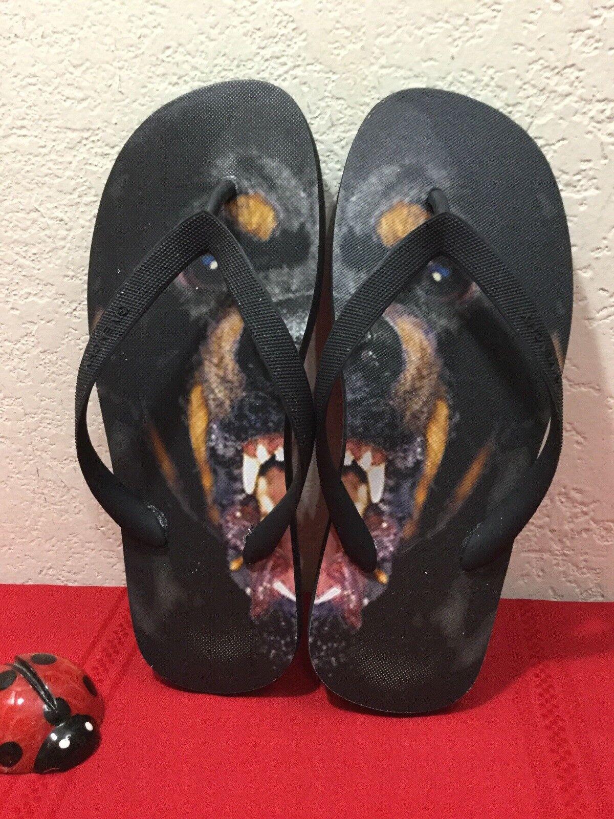 Rare Givenchy Mens redtweiler Ipanema Flip Flops Thong Sandals Size EU 41