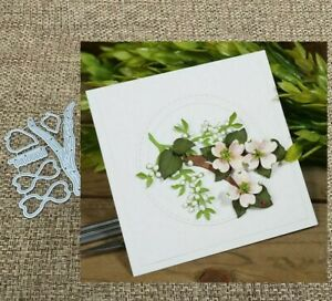 Flower Dogwood Frame Cutting Dies Card Album Scrapbook Embossing
