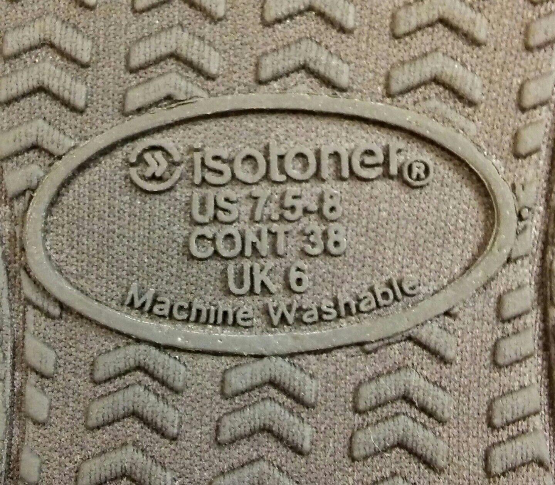 Isotoner Damenschuhe Smartzone Comfort Gel Comfort Smartzone Technology Scuff Slippers - 2016 Collec... a5cada