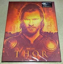 New Marvel Thor Blu-ray 3D+2D Lenticular Steelbook™ Blufans 1188/1300