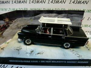 JB78E-voiture-1-43-IXO-007-JAMES-BOND-Mercedes-Benz-220S-Secret-service