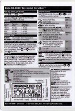 CheatSheet Nikon SpeedLight SB80DX Laminated Guide >Get one for your camera bag!