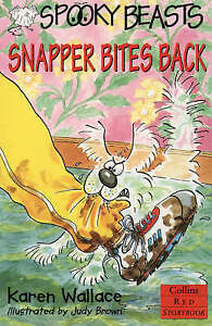 Spooky-Beasts-Snapper-Bites-Back-Red-Storybook-Wallace-Karen-Very-Good-Bo