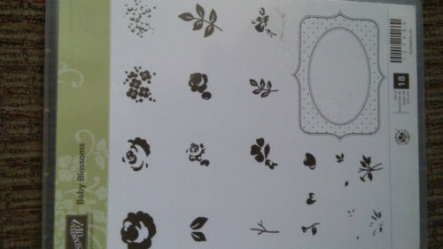 """Flowers CM Set of 6  /""""Baby Blossoms/"""" by Stampin Up NEW"""