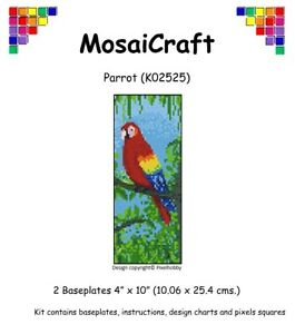 MosaiCraft-Pixel-Craft-Mosaic-Art-Kit-039-Parrot-039-Pixelhobby