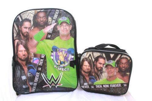 WWE John Cena Wrestling School Sac à dos cartable Championnat Ceinture Garçon Enfants Cadeau