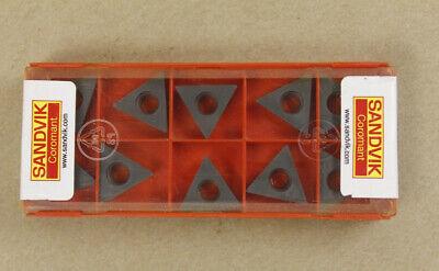 TCMW 16 T3 04 H13A Carbide inserts SANDVIK 10Pcs//1Pack cast iron TCMT 16T304