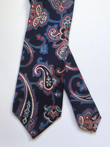 Auth ETRO MILANO Vintage Silk Tie